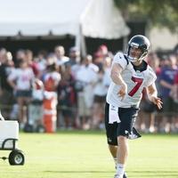 Case Keenum Texans throwing