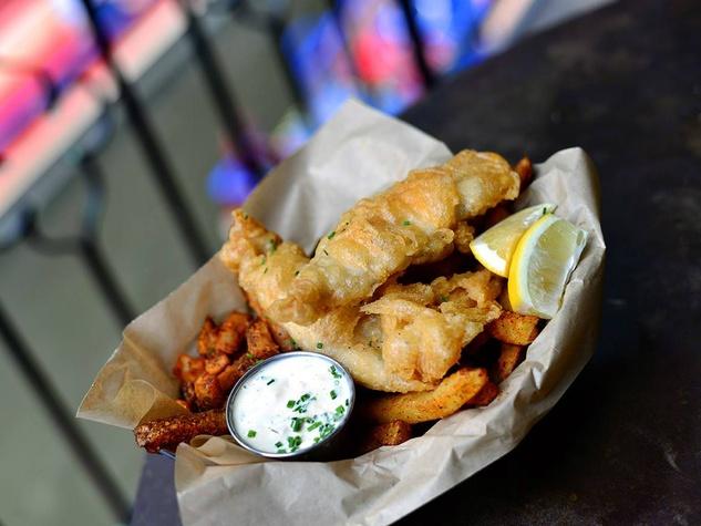 Esquire Tavern San Antonio fish and chips