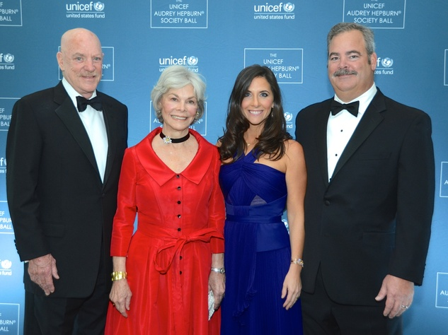 19 Robert and Janice McNair, from left, and Hannah and Cal McNair at the UNICEF Gala October 2014