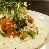 Coast Bar and Restaurant seafood taco