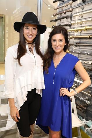 Mackenzie Cash, Ellen Cairns at Decorative Center Spring Market