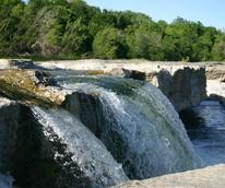 McKinney Falls State Park water swimming