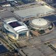 Reliant Park, Reliant Stadium, Astrodome, aerial
