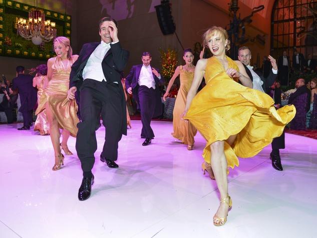 17 Carmen Dancers at the Opera Ball April 2014