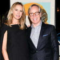 Dee Ocleppo and Tommy Hilfiger in their Plaza apartment