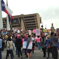 March, Dallas City Hall