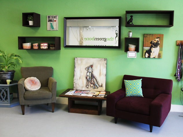 Green Bone, barkery, bakery, March 2013, Sitting Area