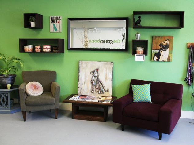 Green Bone, barkery, bakery, March 2013, Sitting Area