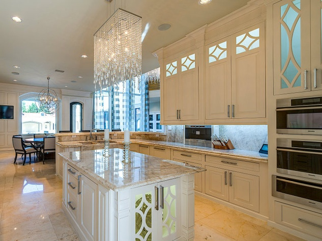 Kitchen at 9625 Preston Rd. in Dallas