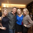 Kelsey Doyle, from left, Erik Johnson, Kelly Meyers and Kelsey Young at the David Yurman Meteorite Collection launch