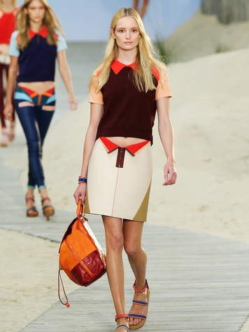 Fashion Week spring summer 2014 Tommy Hilfiger Look 09
