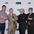 Ron Corning, Ken Morris, Timothy Greenfield-Sanders, Mitzi Lemons, Black Tie Dinner, HBO