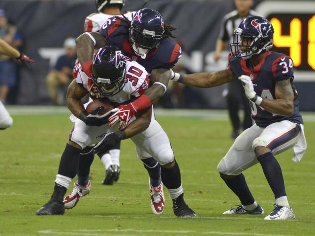Texans Falcons big hit Clowney