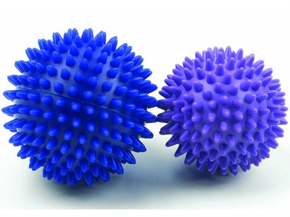 Spiky massage balls