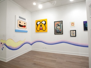 Mondo Gallery interior Adventure Time