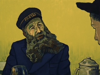 Chris O'Dowd as Postman Roulin in Loving Vincent