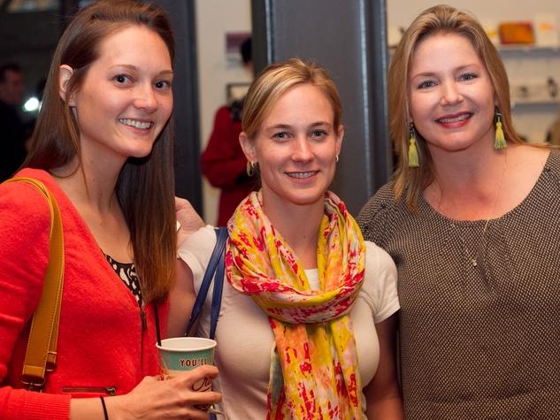 The Contemporary Austin Five x Seven Event 2014 Kristen Keiser Emily Landry Julie Savasky