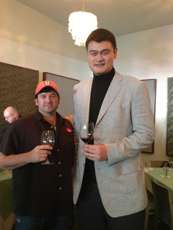 Bryan Caswell, Yao Ming, February 2013