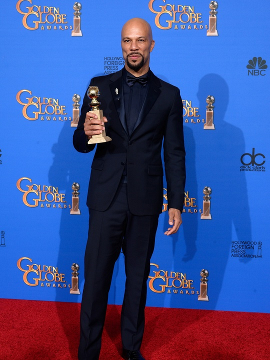 Common Prada at the 72nd Annual Golden Globe Awards January 2015