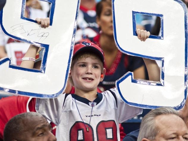 J.J. Watt 99 sign