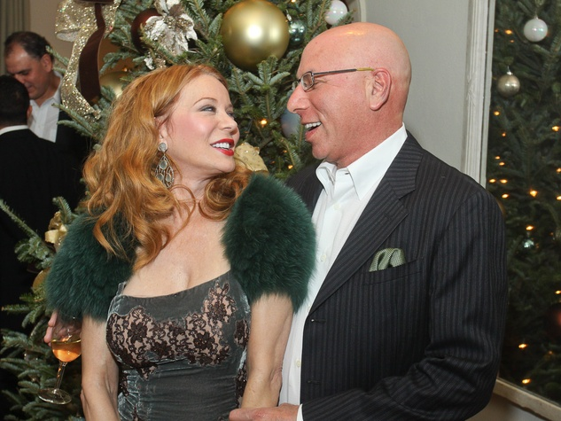 News_Bhatia Christmas party_December 2011_Cindi Rose_Dr. Franklin Rose