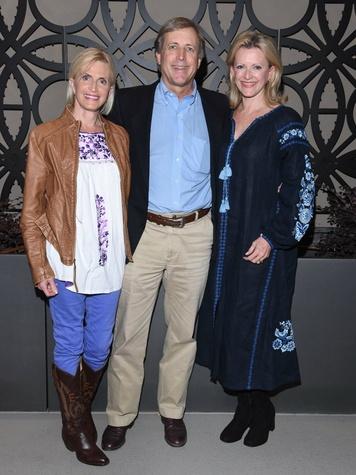 Fay Sheehan, Bragg Smith III, Ann Barbier-Mueller