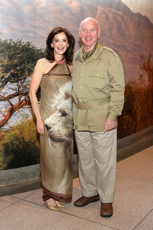 News, Shelby, Museum of Natural Science gala, March 2015 Laurie Morian, Reed Morian