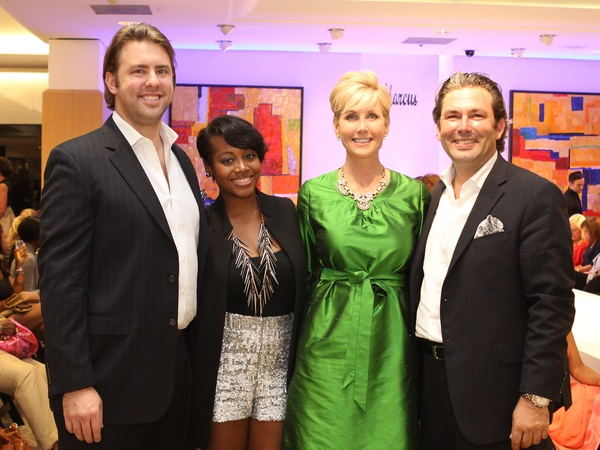 Fashion&#39;s Night Out, Neiman Marcus, September 2012, Chris Elrod, Tanesha Seafous, Jerri Moore, Jared Lang