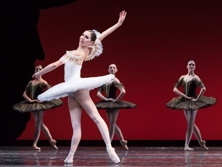 Houston Ballet 2014-15 season announcement January 2014 Paquita IMG_6515 Precourt & Artists of HB
