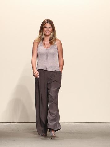 Fashion Week spring summer 2014 Daisy Fuentes designer Daisy Fuentes