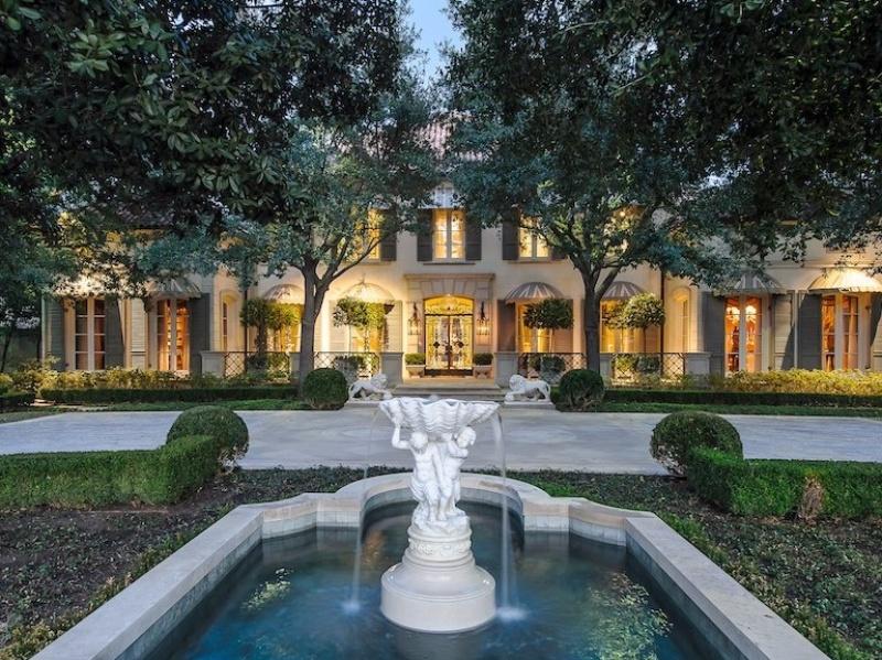 Pickens home, 9434 Alva Ct., Dallas