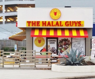 The Halal Guys Houston exterior
