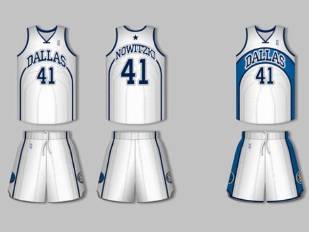 Dallas Mavericks Alternate Jersey Competition