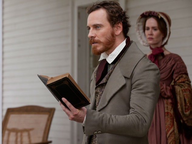 Michael Fassbender and Sarah Paulson in 12 Years a Slave