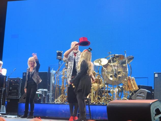 Jane Howze Fleetwood Mac December 2014 Christine McVie, from left, Mick Fleetwood and Stevie Nicks