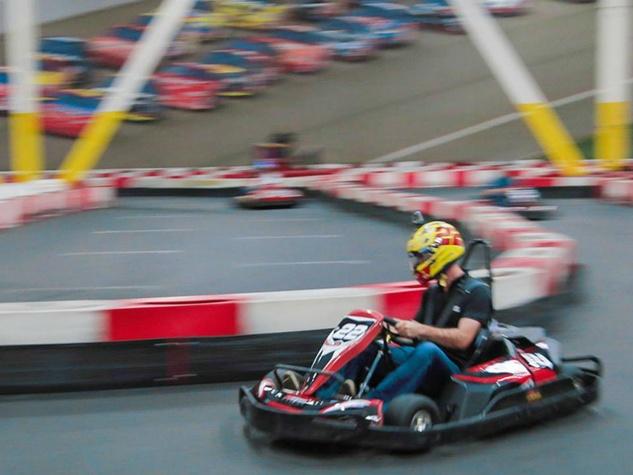 Go-kart fans find electric thrills at new Richardson track ...