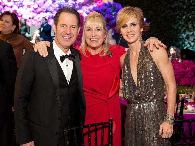 Kitch Taub; Nancy Abendshein; Martha Katherine Long at Museum of Fine Arts Houston Gala