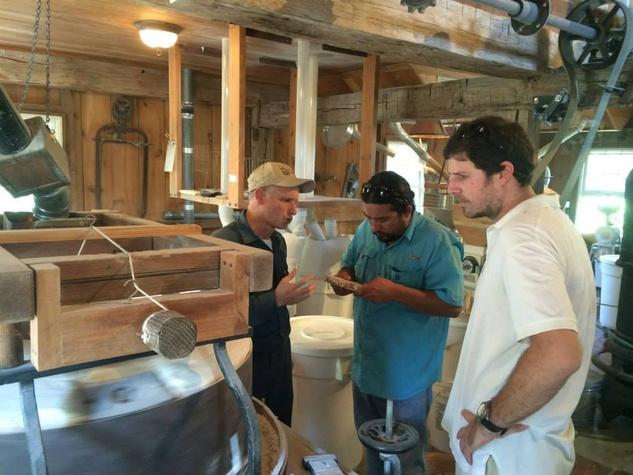Bramble farm visit Randy Rucker