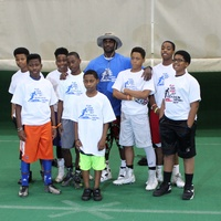 DJ Hayden Football Camp 2015 group