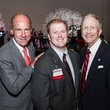 Eric Andell, from left, Chris Daniel and Vince Ryan at the Mayor's Hispanic Heritage Awards event October 2014