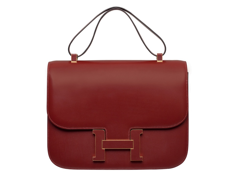 Hermes Constance handbag Box Calfskin