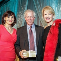 News, Greater Houston Women's Chamber of Commerce Gala, Dec. 2015, Denise Castillo Rhodes, Dr. Robert Robbins, Suzan Deison