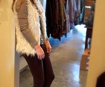 News_faux fur vests_Annina Stefanelli