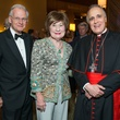 4 Harry and Cora Sue Mach, from left, with Cardinal Di Nardo at the St. Thomas Mardi Gras Gala February 2015