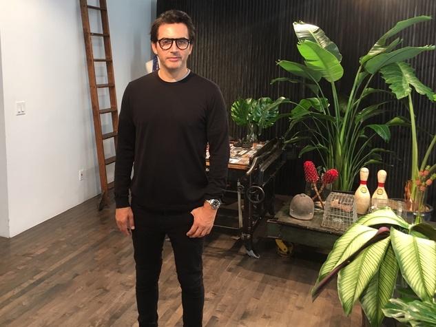 Yigal Azrouel in his studio