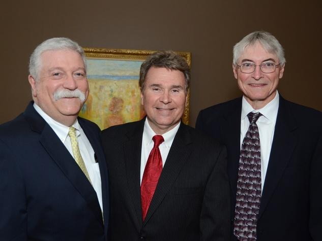 News_Shelby_UH Great Conversation_Carl Moerer, Bill Monroe, Jim Reed_March 2013