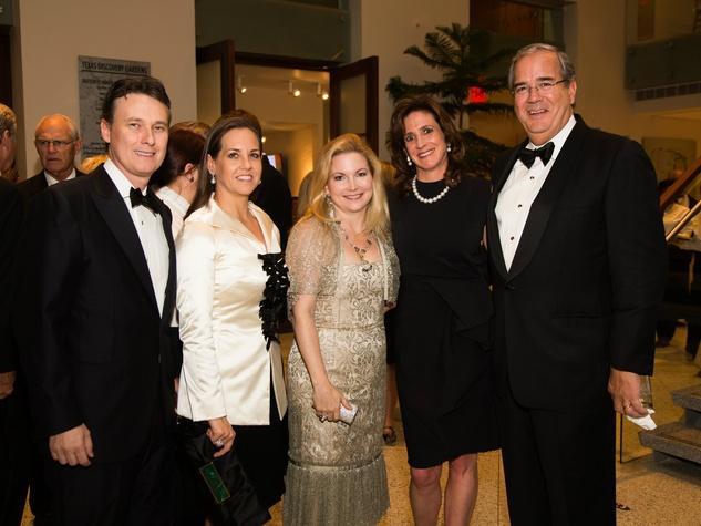 Nicholas McCord, Stacey McCord, Aprl Abney, Allison Farrow, Bob Farrow, Flora Award