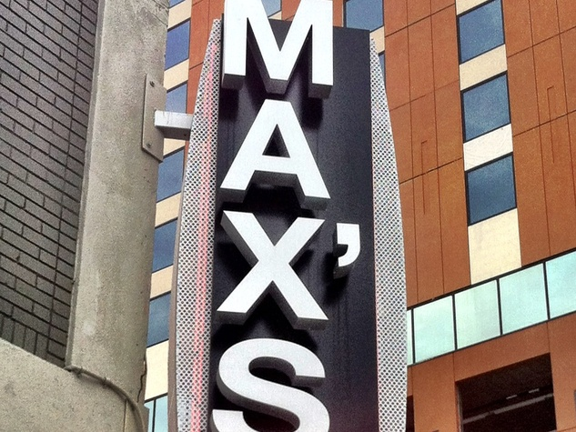 Max's Wine Dive sign