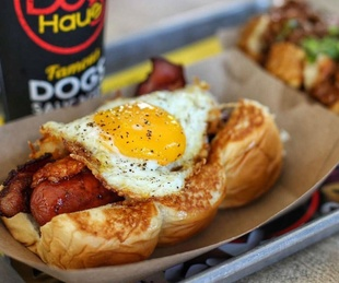 Dog Haus hot dog