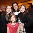 Aerin Kalmans, Talia Kalmans, Elyse Kalmans and Kendall Kalmans at the ADL Houston in Concert Against Hate November 2013